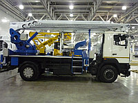 Автовышка 32 метра телескопическая МАЗ евро-4