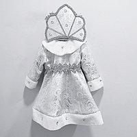 Костюм Снегурочки белая от 2 до 6 лет.