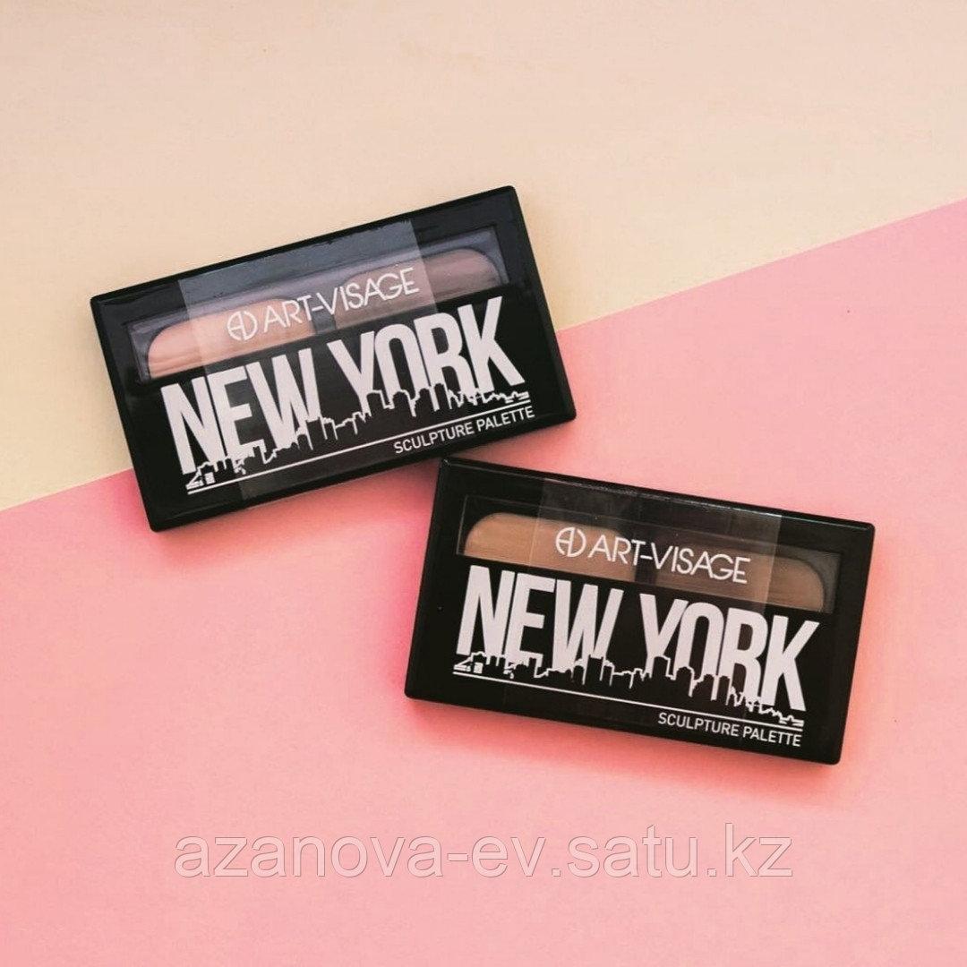 """ART-VISAGE Палетки для скульптурирования """"NEW YORK"""""""