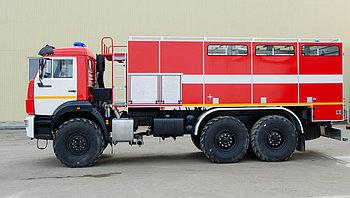 Пожарный рукавный автомобиль АР-2 (43118)  На базе Камаз 43118; Насос:
