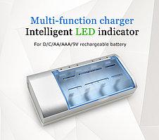 Универсальное зарядное устройство BTY-C821BW для аккумуляторов AA,AAA.C.D,9v