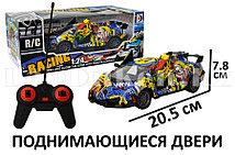 Машинка радиоуправляемая спортивная с открывающимися дверьми граффити RD572-1B