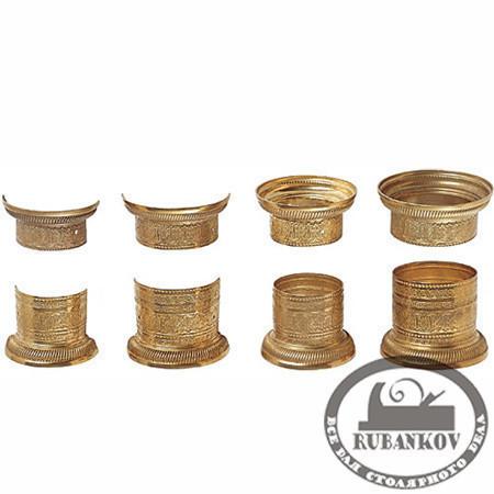 Накладки для колонн: Низ колонны, D61мм/D47мм/47мм