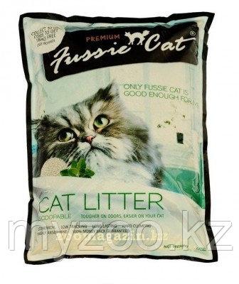 Fussie Cat Premium, Фасси Кэт, комкующийся наполнитель Премиум класса без запаха, уп. 10л.