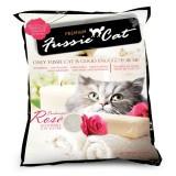 Fussie Cat Premium, Фасси Кэт, комкующийся наполнитель Премиум класса с ароматом розы, уп. 10л.