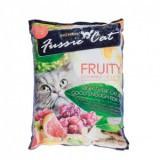 Fussie Cat Premium, Фасси Кэт, комкующийся наполнитель Премиум класса фруктовый, уп. 10л.
