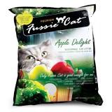 Fussie Cat Premium, Фасси Кэт, комкующийся наполнитель Премиум класса с ароматом яблока, уп. 5л.
