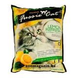 Fussie Cat Premium, Фасси Кэт, комкующийся наполнитель Премиум класса с ароматом лимона, уп. 5л.