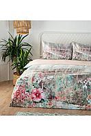 Комплект постельного белья Ozdilek Soft Life Krem Matilda 2-х сп. евро сатин