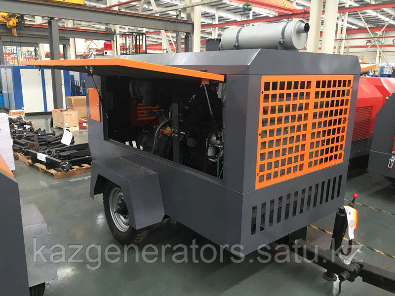 Передвижной винтовой компрессор KG 830-9