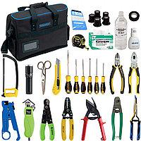 Комплект инструментов и приборов SK-RST-M1 в составе (класический набор для разделки оптического кабеля и