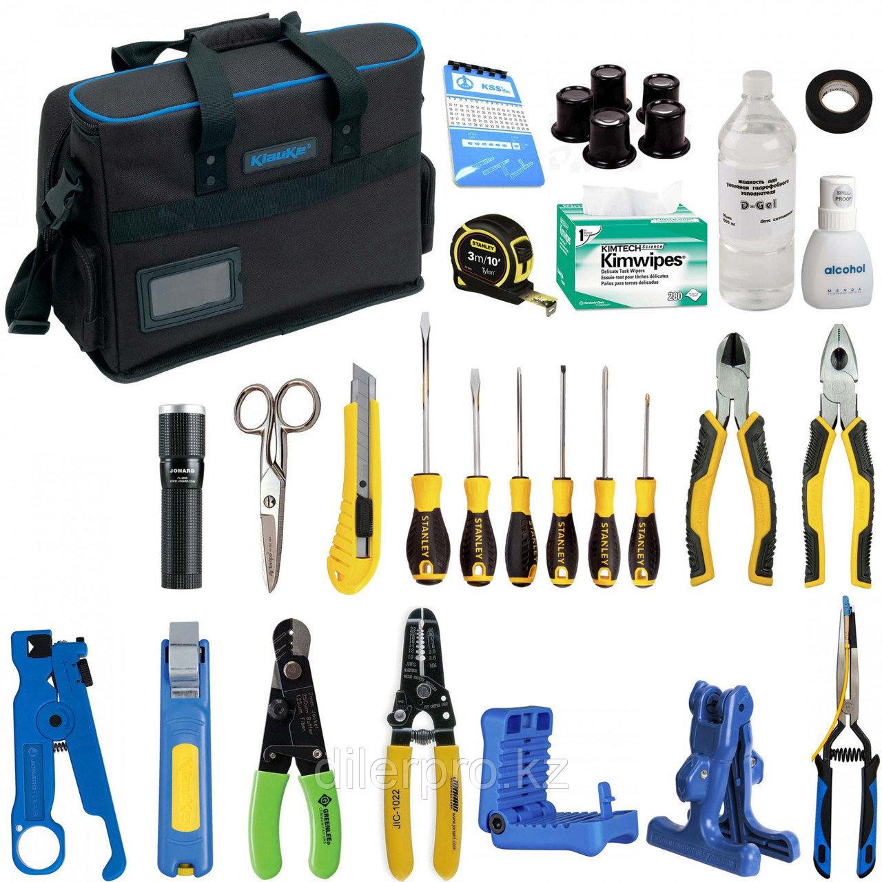 Комплект инструментов и приборов SK-RST-PON1 в составе (класический набор для PON)