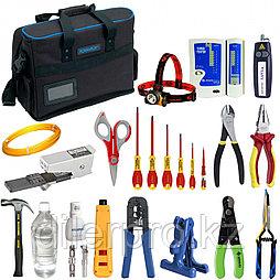 Комплект инструментов и приборов SK-RST-1R-Plus1 в составе (набор монтажника ВОЛС и LAN)