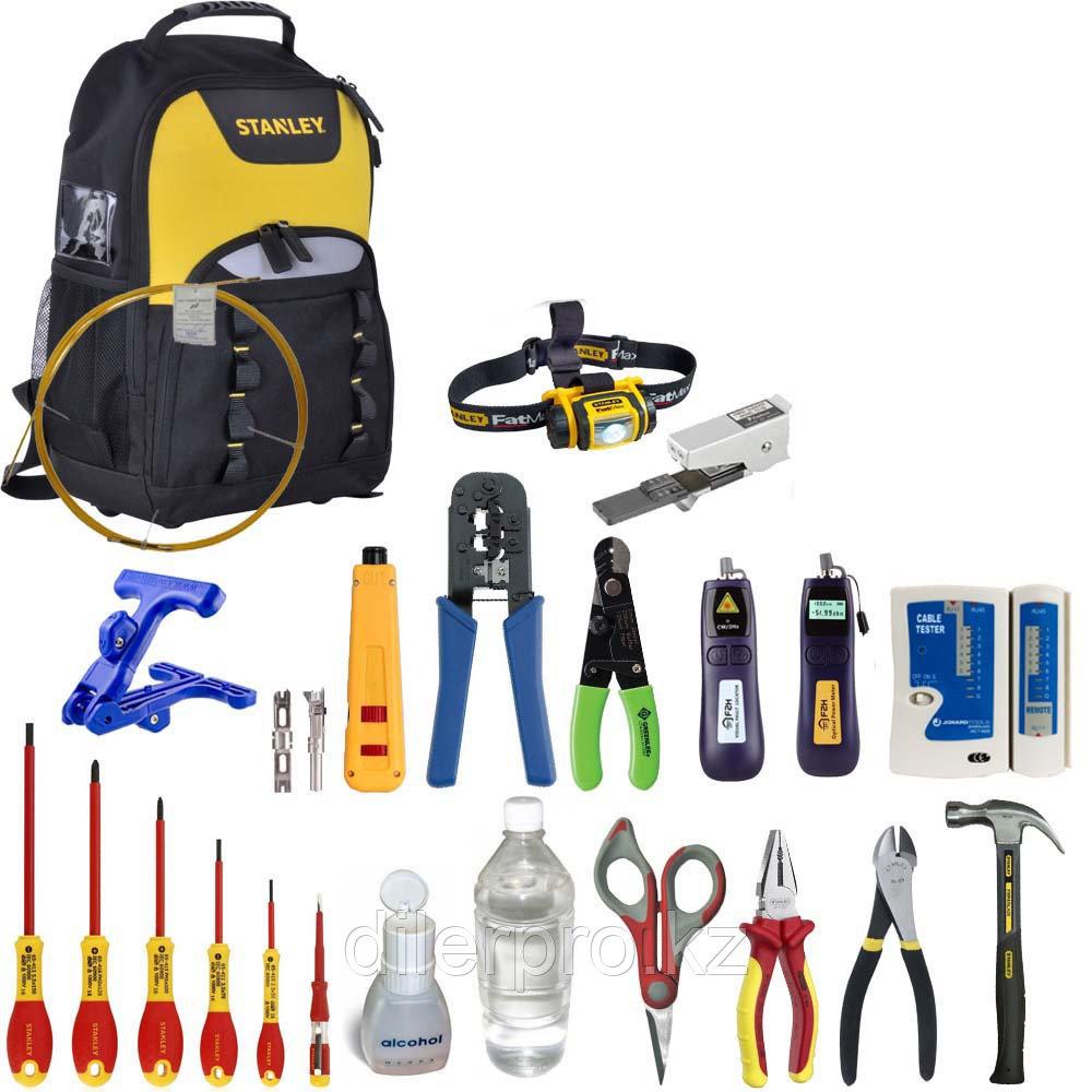 SK-RST-1R - Набор инструментов для монтажа оптического кабеля и витой пары (в рюкзаке)