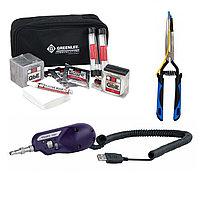 Комплект инструментов и приборов SK-CL-MIC-1 в составе (Набор для чистки оптических разьемов)