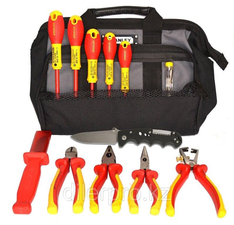 SK-16 B3 - набор изолированного инструмента электрика в сумке, 13 диэлектрических предметов