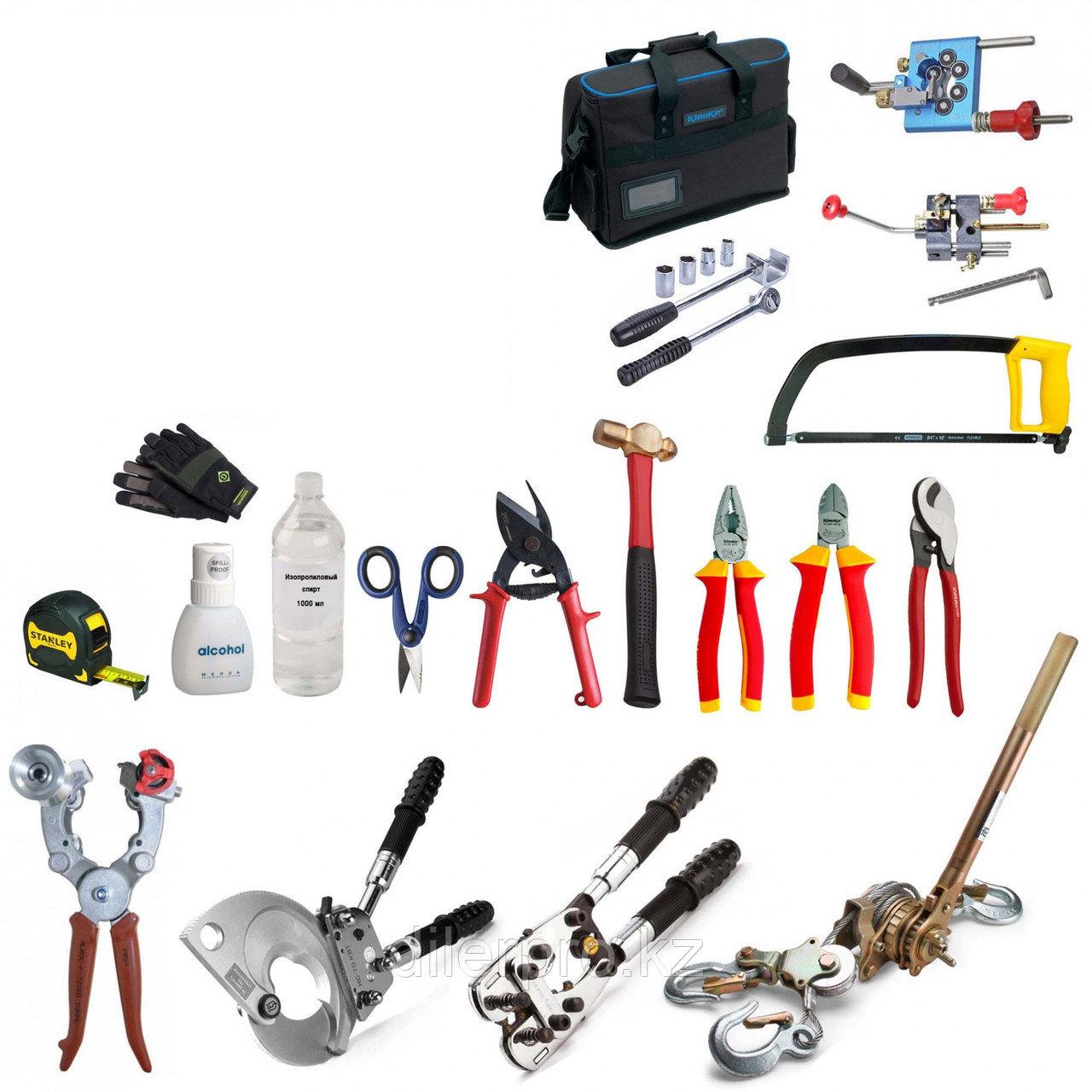 SK-TN-007-N2 - Набор инструментов для установки муфт холодной усадки на кабель с изоляцией СПЭ (без палатки кабельщика)