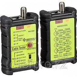Greenlee 1594 - LAN & A/V Cable-Check - кабельный тестер