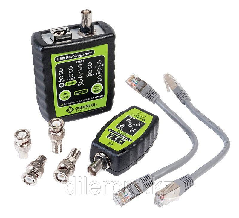 Greenlee PA1543 - кабельный тестер LAN ProNavigator