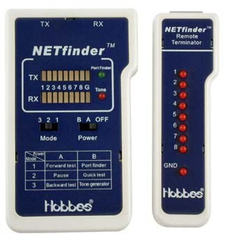 Hobbes NETFinder - кабельный тестер