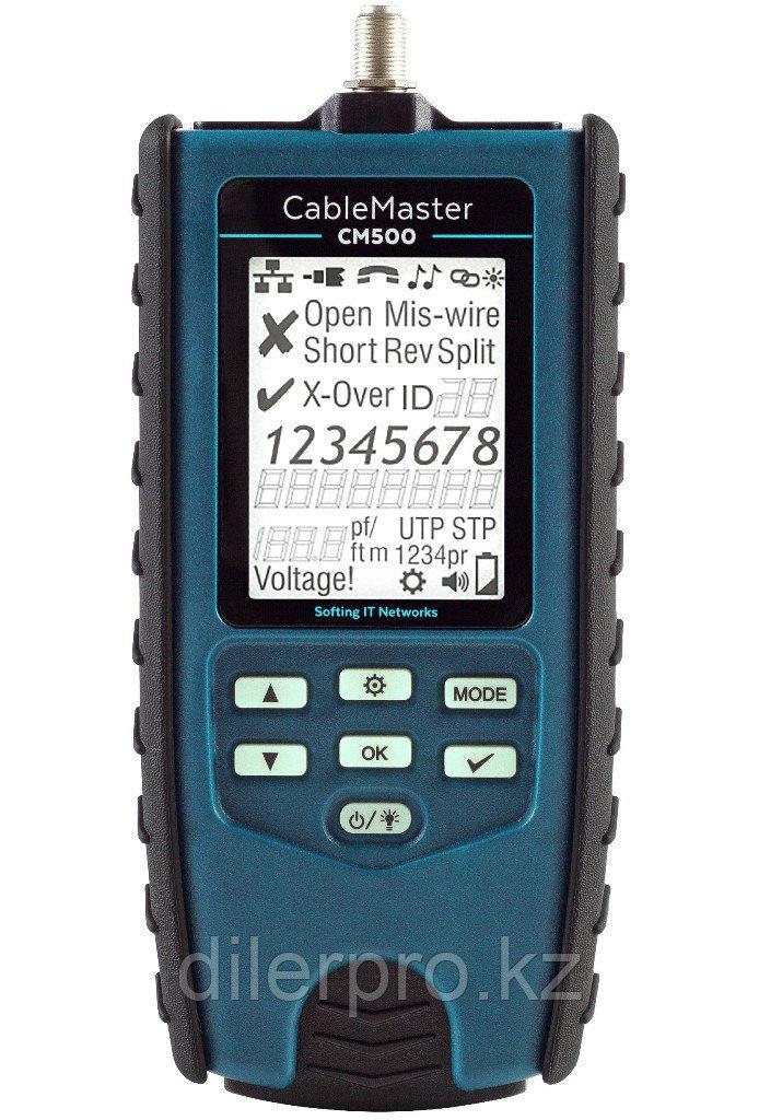 Кабельный тестер Softing CableMaster 500 с измерением длины кабеля