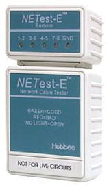 Hobbes NETest-E - кабельный тестер