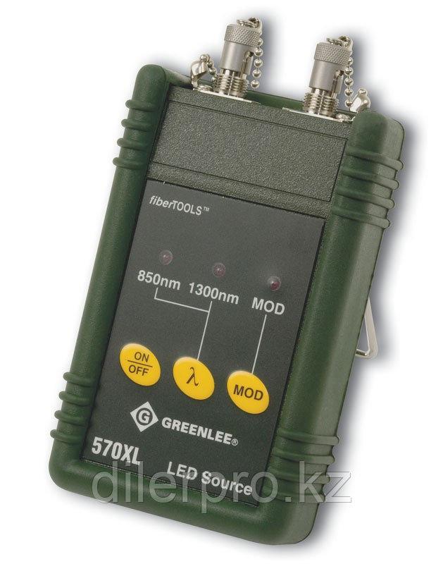 Greenlee 570XL-SC - источник излучения (850/1300 нм) c фиксированным SC адаптером