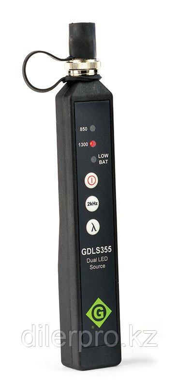 Greenlee DLS355FB - источник оптического излучения 1310/1550нм с SC адаптером