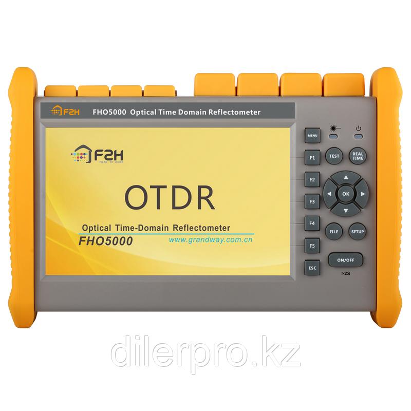 Grandway FHO5000-D35-LS-PM-TS-FM - оптический рефлектометр 1310/1550 нм, 35/33 дБ, VFL, PM, TS, LS, FM