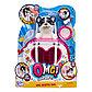 Интерактивная игрушка сквиши-щенок OMG Pets! в переноске, фото 2