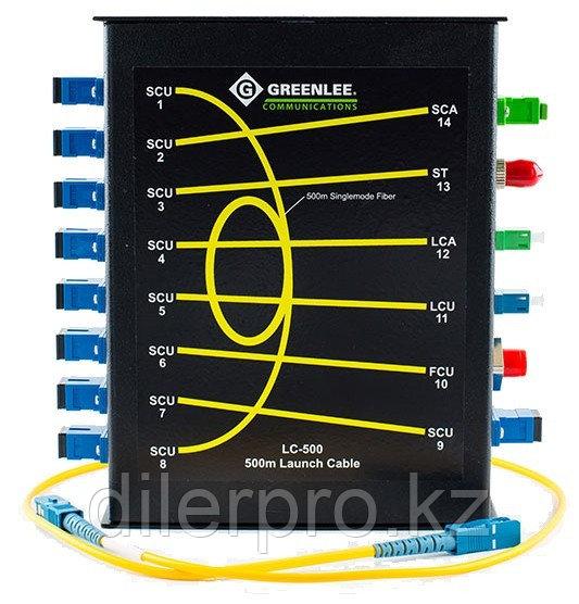 Greenlee LC-500 - компенсатор мертвой зоны 500м для SM волокна с адаптерами FC/UPC, SC/UPC, SC/APC, ST/UPC,