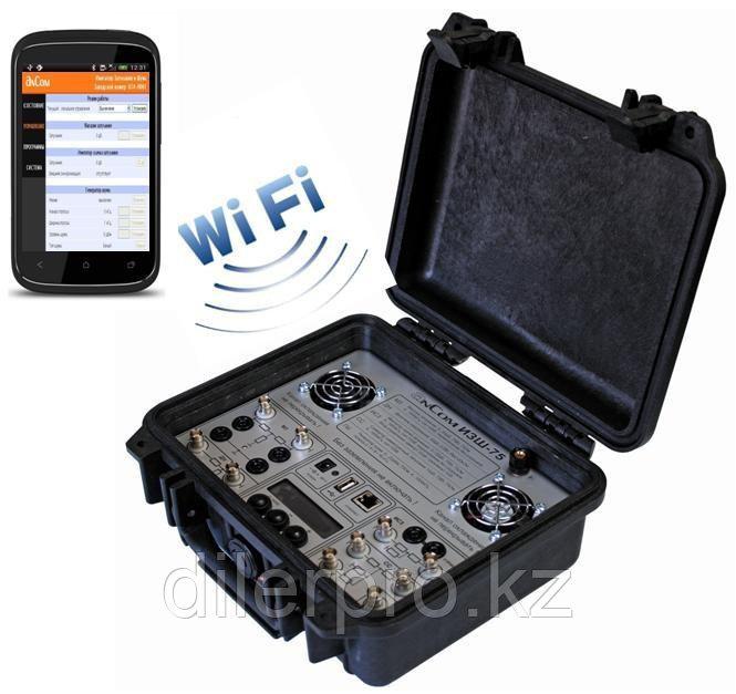 AnCom ИЗШ-75 - имитатор затухания и шума в ВЧ тракте (мобильный интерфейс)