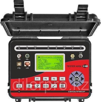 Связьприбор TESTER ADSL / WiFi - анализатор ADSL с рефлектометром и WiFi-анализатором