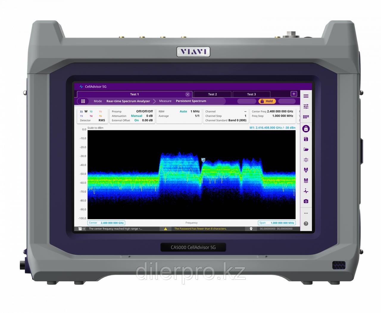 VIAVI CellAdvisor 5G CA5000-F002 - анализатор базовых станций 5G (частотный диапазон от 9 кГц до 6 ГГц и от 24