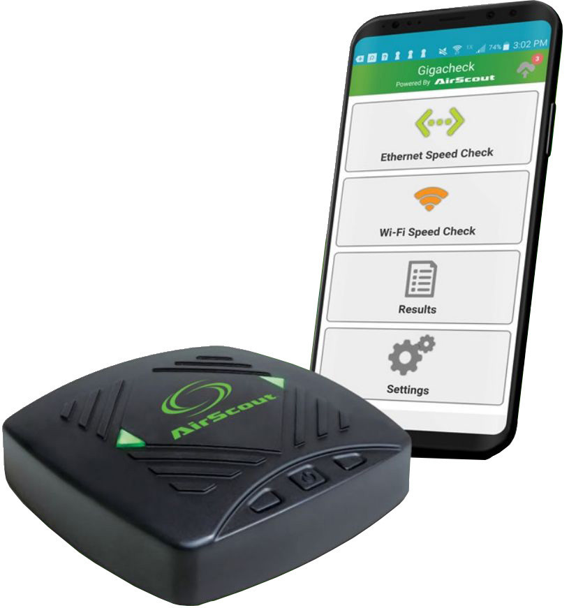 Greenlee AirScout GigaCheck - анализатор производительности WiFi сети