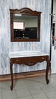 """Мебель для ванной """"Praga"""" 100 (орех), фото 1"""