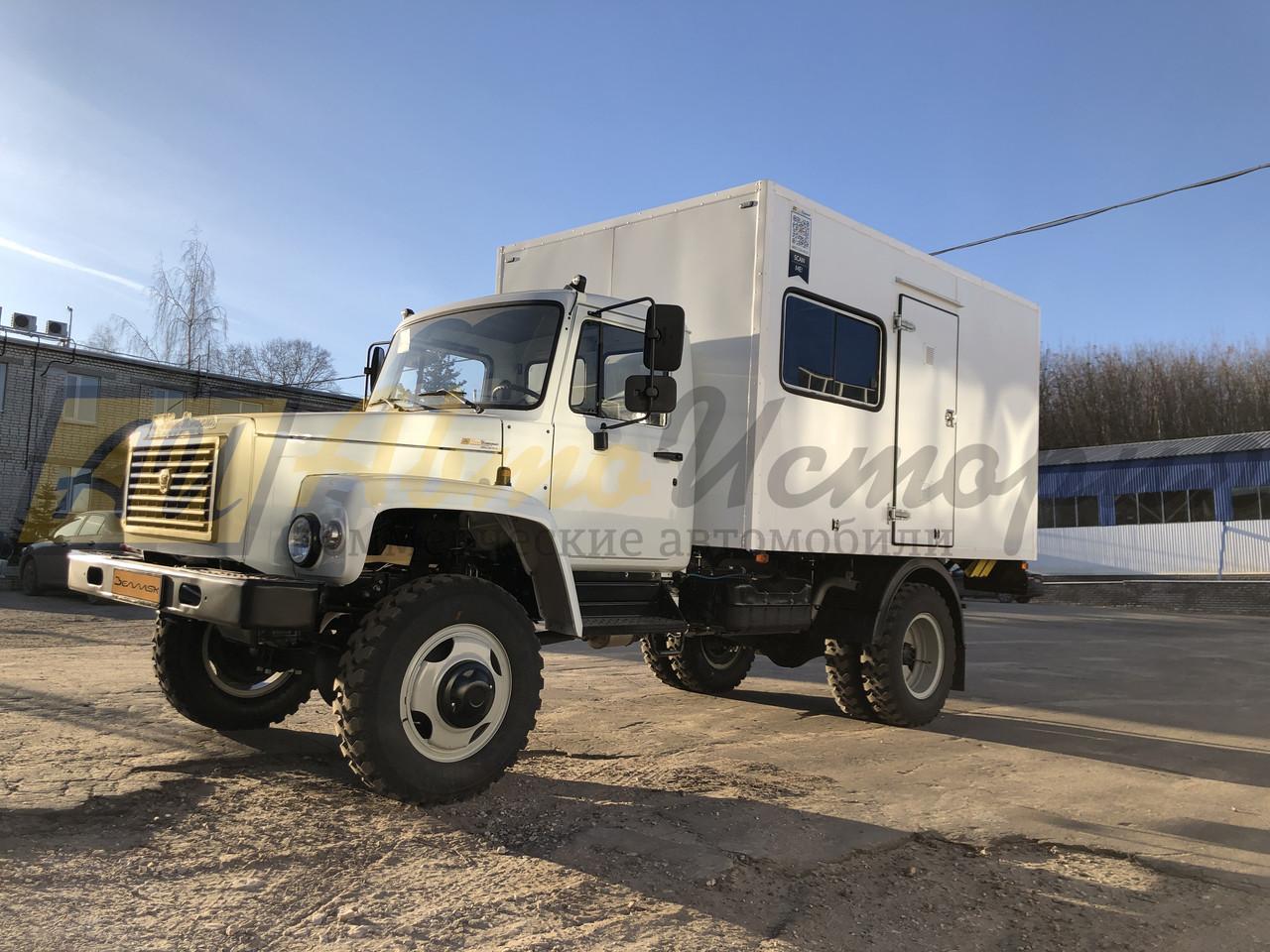 Газ 33086. Фургон - мастерская.