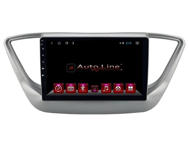 Магнитола для Hyundai Accent 2017-2018 Grey Edition ПРОЦЕССОР 4 ЯДРА (QUAD CORE)