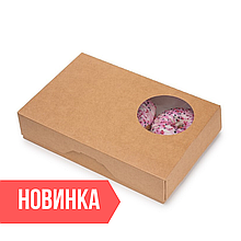 Новинка - Упаковка для Пончиков DONUTS M