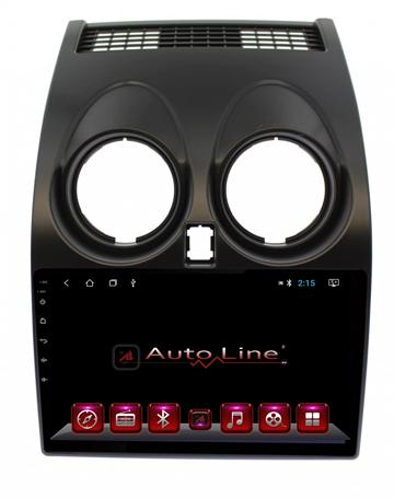 ANDROID 8.1.0 Nissan Qashqai 2007 - 2013г. ЭКРАН 1024-600 ПРОЦЕССОР 4 ЯДРА (QUAD CORE)