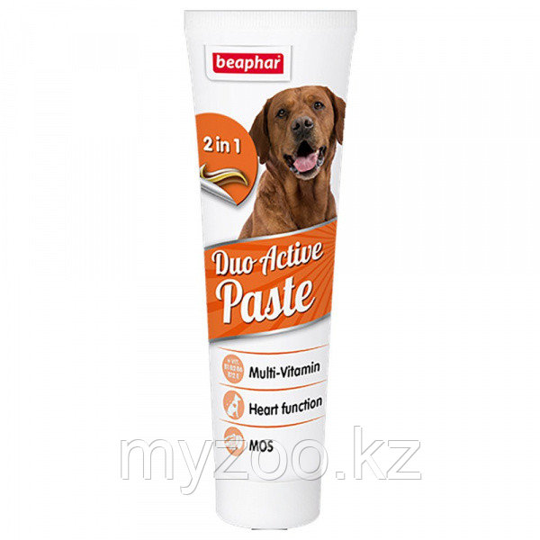 Beaphar Duo Active paste, Беафар Дуо Актив мультивитаминная паста для собак, 100гр.