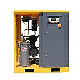 Винтовой компрессор APB-10A, -1,1 куб.м, 7,5кВт, AirPIK, фото 4