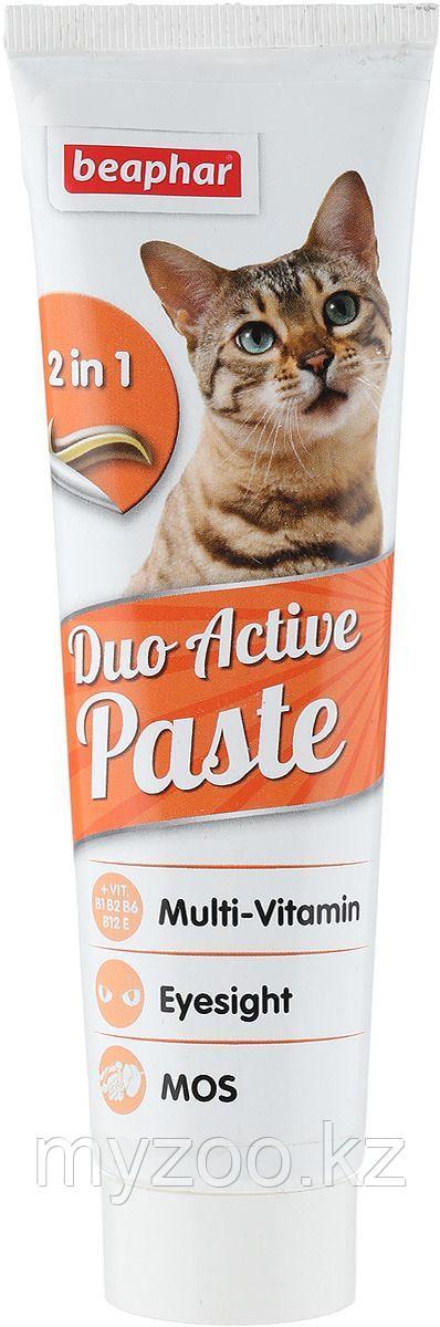 Beaphar Duo Active Paste, 100 гр. |Мультивитаминная паста для кошек |