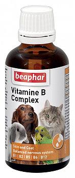 Beaphar Vitamine B Complex 50 гр. |Кормовая добавка для всех домашних животных|