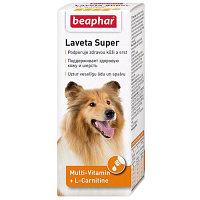 Beaphar Laveta Suрer Dog, Беафар Лавета Супер, мультивитамины для собак, фл. 50 мл.