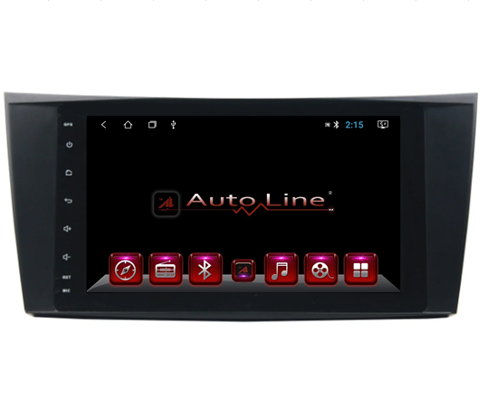 ANDROID 8.1.0 Mercedes W211, CLS, SLK HD ЭКРАН 1024-600 ПРОЦЕССОР 4 ЯДРА (QUAD CORE)