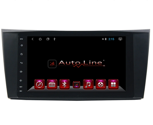 ANDROID 8.1.0 Mercedes W211, CLS, SLK HD ЭКРАН 1024-600 ПРОЦЕССОР 4 ЯДРА (QUAD CORE), фото 2