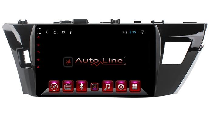 Автомагнитола AutoLine Toyota Corolla 2013-2017 HD ЭКРАН 1024-600 ПРОЦЕССОР 4 ЯДРА (QUAD CORE)