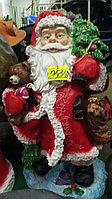 Садовая статуэтка Санта-клаус с мешком