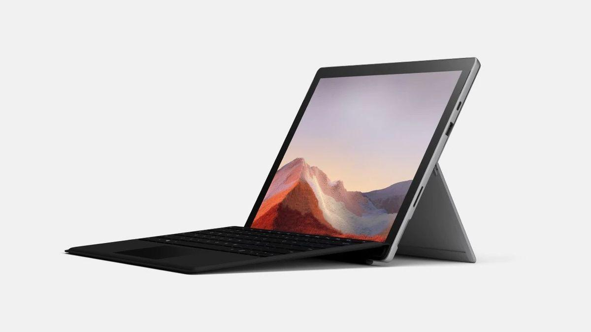 Microsoft Surface Pro 7 i7 16GB 256GB 12' platinum